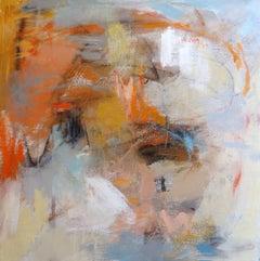 Autumn Rain 1, Painting, Acrylic on Canvas