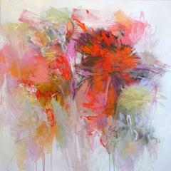 Summer Garden, Painting, Acrylic on Canvas