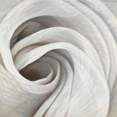 Dynamism 8 -Soft Grey 40 X 40