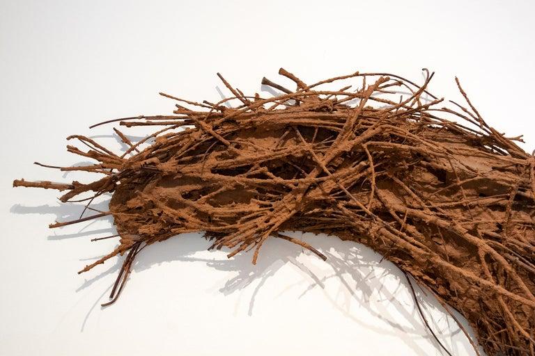 Untitled (Horse) - Brown Figurative Sculpture by Deborah Butterfield