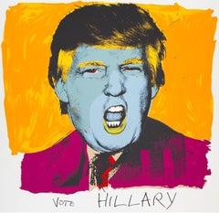 Deborah Kass 'Vote Hillary' Silkscreen Print, 2016