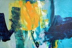 Canopy Glow: Abstract Painting by Deborah Lanyon
