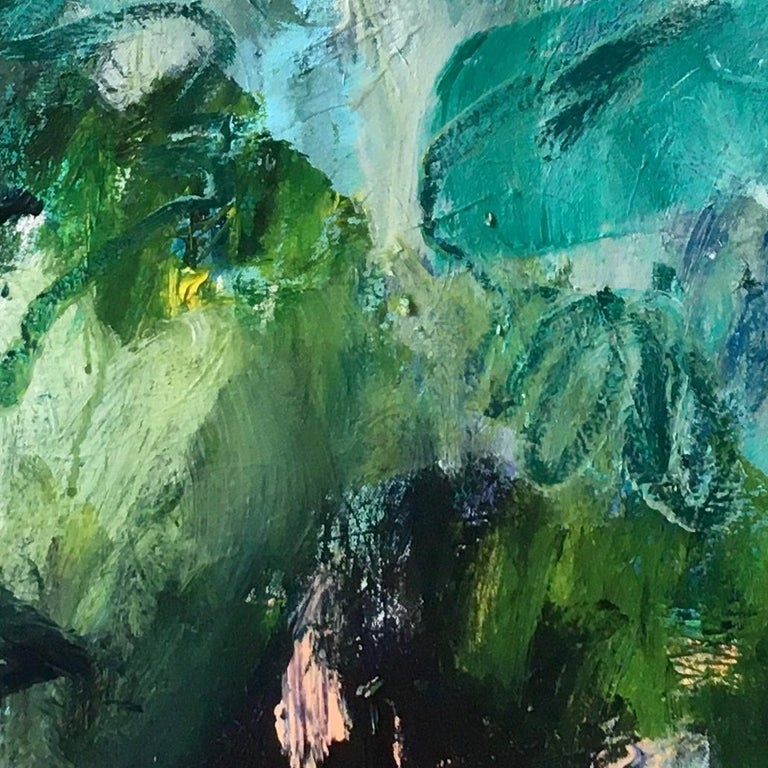 Deborah Lanyon Richmond Park I Painting On Canvas Of Summer In The Park During The Lockdown For Sale At 1stdibs