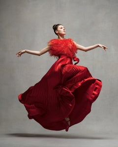 Tiler Peck, New York City Ballet (red vintage Valentino)