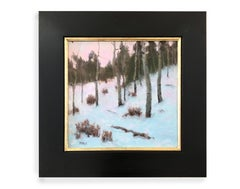 Winter Dance (Alpine landscape, aspen trees, snow)