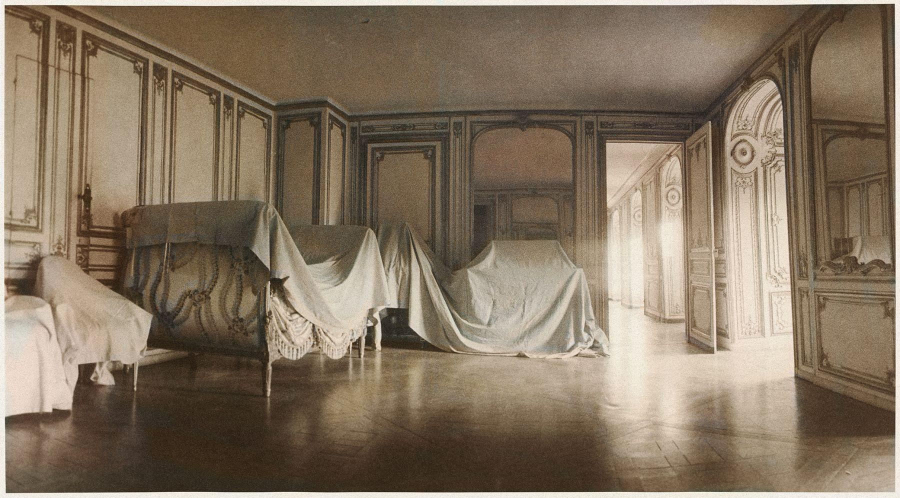 The Private Apartment of Madame du Barry, from Unseen Versailles, France