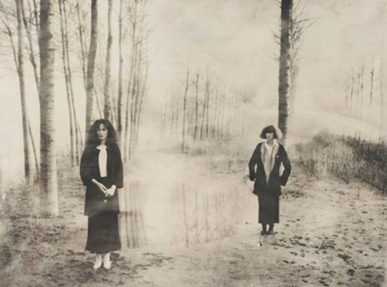 Deborah Turbeville Black and White Photograph - Women in the Woods: Ella and Isabella, VOUGE Italia