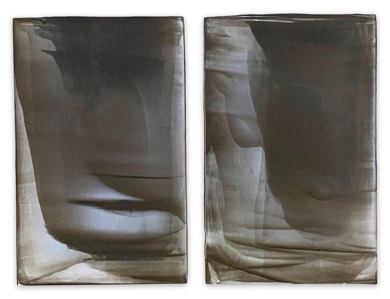 Debra Ramsay Abstract Painting - Mirage (Abstract painting)