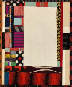 "Debra Smith ""Talking Stories 2"" -- Abstract Silk Collage"