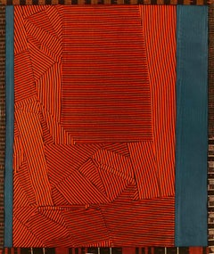 "Debra Smith ""Talking Stories 8"" -- Abstract Silk Collage"