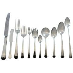 Debutante by Richard Dimes Sterling Silver Flatware Set 12 Service 147 Pc Dinner