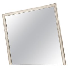 Decadence Big Oblique Mirror with Wooden Frame
