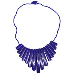 Decadent Jewels Lapis Lazuli Spear Necklace