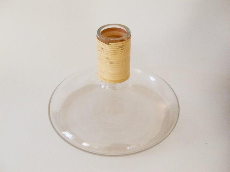 Austrian Decanter or Vase by Carl Auböck For Sale