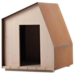 DeCastelli Dog House N°1 in Natural Corten by Filippo Pisan