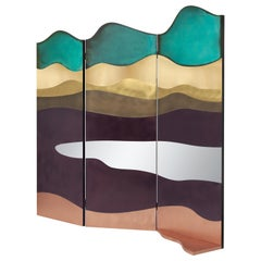 DeCastelli Painting Room Divider in Multi color by Alessandra Baldereschi