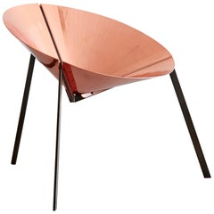 DeCastelli Pensando Ad Acapulco Chair in Polished Copper by IvDesign