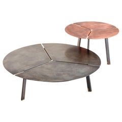 DeCastelli Placas Large Table in Stainless Steel by LucidiPevere