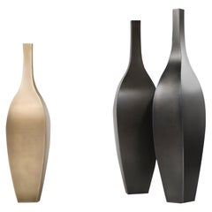 DeCastelli Rocco 147 Vase in Brass by Stefano Dussin
