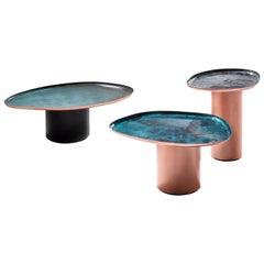 DeCastelli Small Drops Coffee Table in Copper by Zanellato/Bortotto