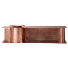 DeCastelli Wave Bench in Copper by Lanzavecchia+Wai