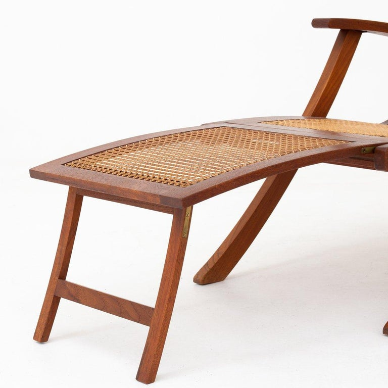 Patinated Deck Chair by Kaare Klint