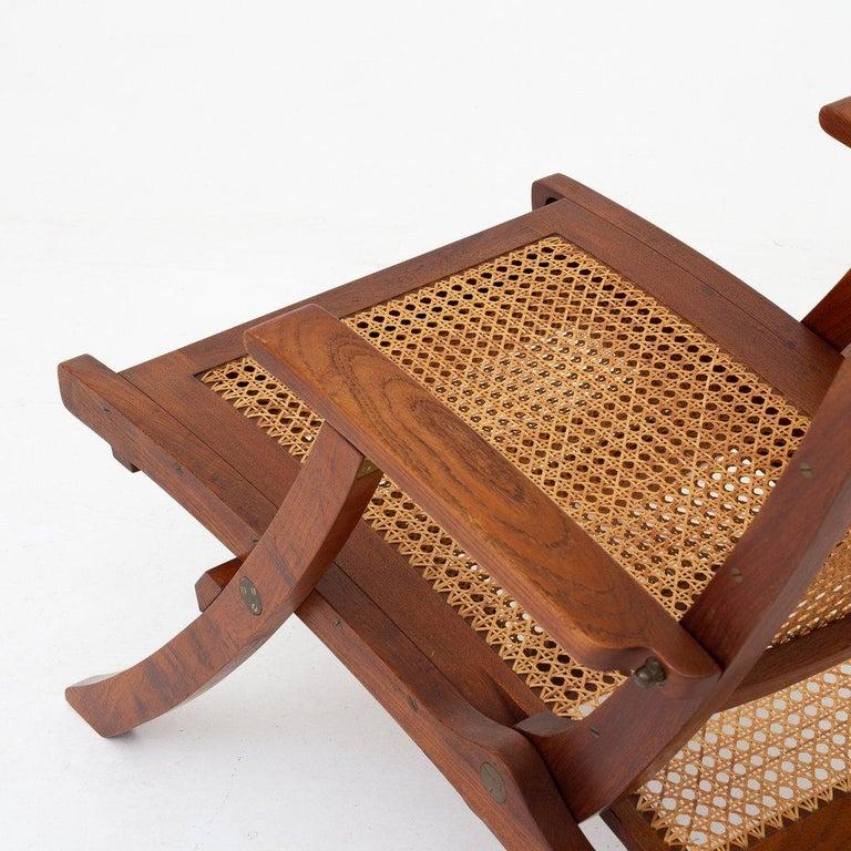 Teak Deck Chair by Kaare Klint