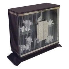 Deco 2-Door Display Cabinet