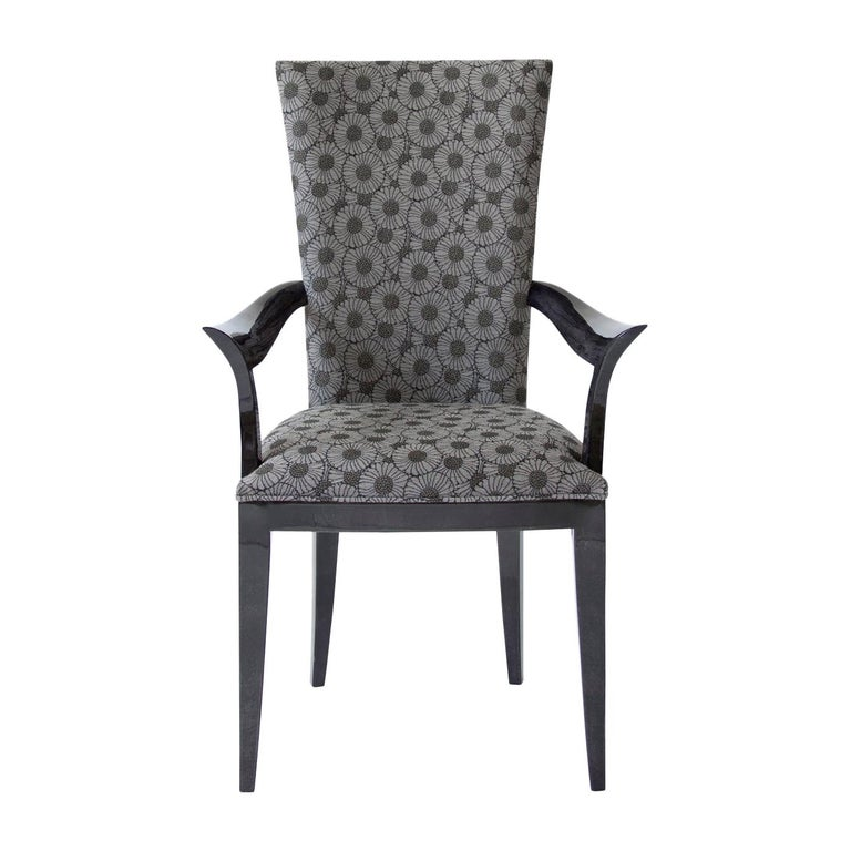 Deco Chair with Armrests For Sale