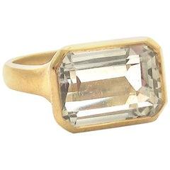Jacqueline Rose Deco Green Amethyst Ring