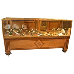 Deco Inlaid Mercantile Display Case
