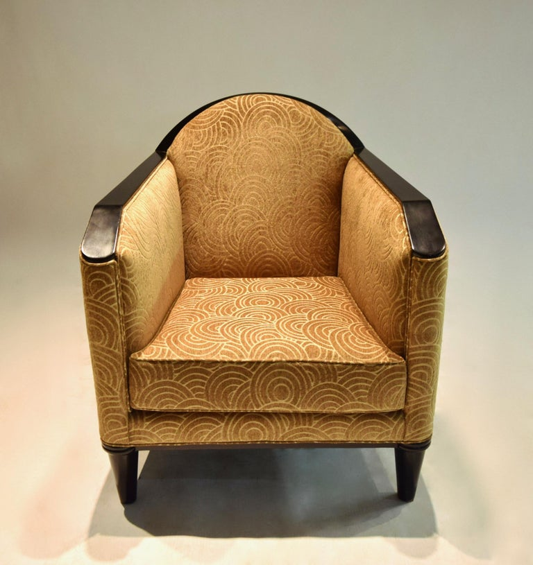 Deco Lounge Chair By Pierre Chareau France Circa 1925