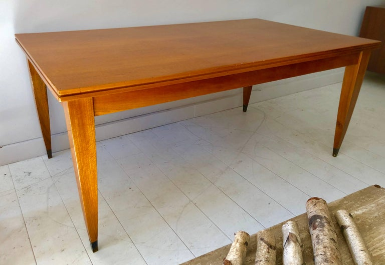 Deco Modern Italian Library or Dining Table For Sale 4