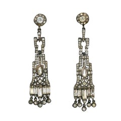 Deco Paste Chandelier Earrings