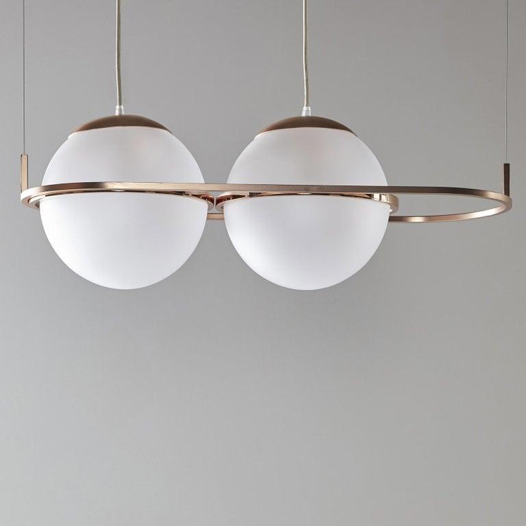 Modern Decò Pendant Lamp by Mingardo For Sale