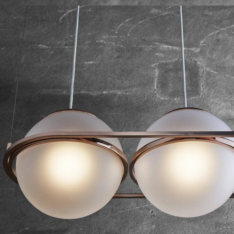 Contemporary Decò Pendant Lamp by Mingardo For Sale