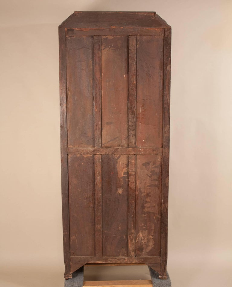 Art Deco Rosewood Wardrobe with Mirror For Sale 12