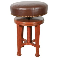 Deco Stool with Adjustable Seat