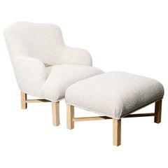 Deco Style Armchair by Robert J. Scott