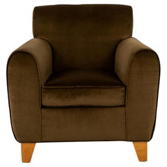 Deco Style Olive Club Chair