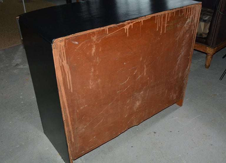 Mid-20th Century Deco Style Painted Chest of Drawers For Sale