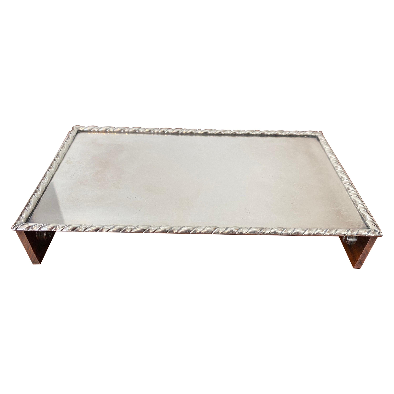 Deco Style Silver Plate Box