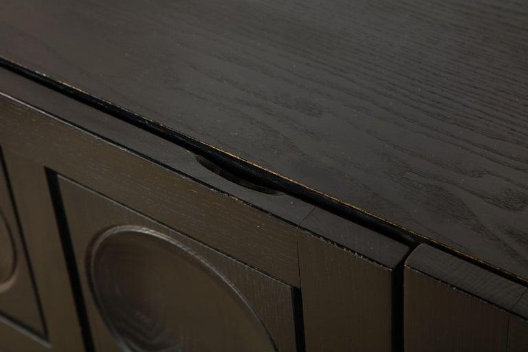 Oak Decoene Cabinets For Sale
