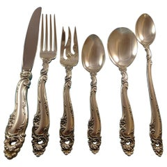 Decor by Gorham Sterling Silver Flatware Set for 12 Service 84 Pieces