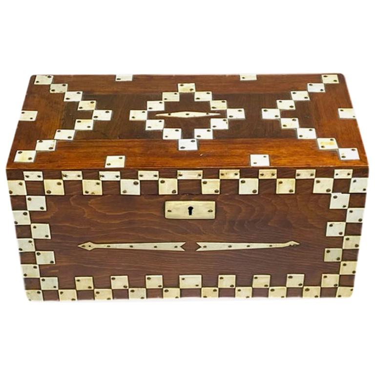 Decorated Box with Overlays
