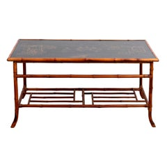 Decorated Chinoiserie Style Coffee Table