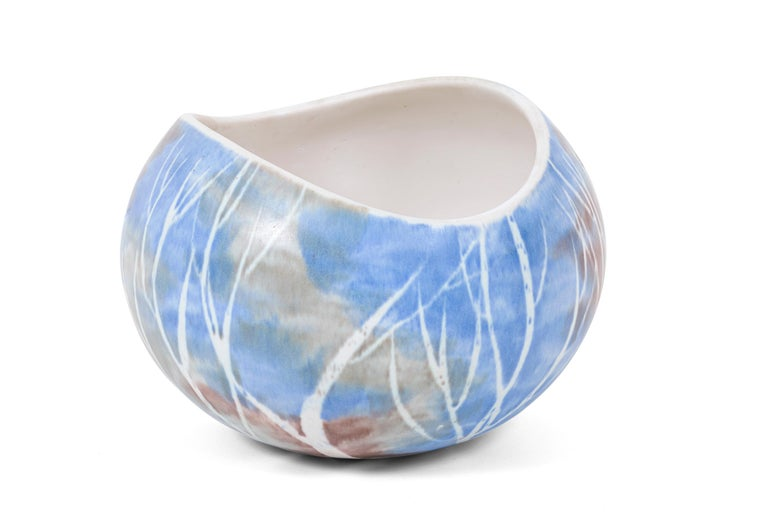 Andersen Design is an American Designer Craftsmen Studio established in 1952 on Southport Island, Maine by Weston and Brenda Andersen. This salad bowl was designed by Weston Neil Andersen. I believe it to be an early salad bowl dating back to the