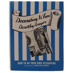 Decorating is Fun! by Dorothy Draper Vintage Decorating Hardcover Book