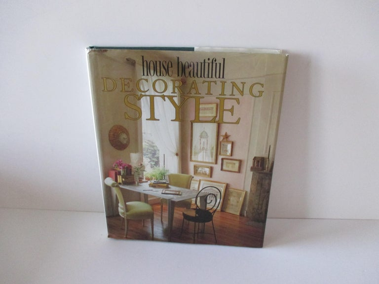 Decorating style hardcover book by House Beautiful The editors of House Beautiful magazine here present hundreds of ideas for bringing style to your home. This volume begins with the essentials of decorating, such as the use of color, scale, and