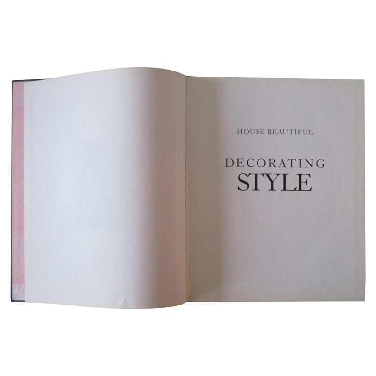 Decorating Style Hardcover Book For Sale